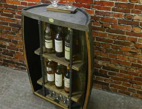 Whisky-Fass-Bar Skye